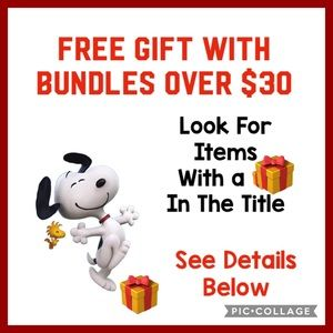 FREE GIFT With A Bundle Purchase Totaling Over $30